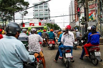 Prévention pour le port du casque au Viêtnam