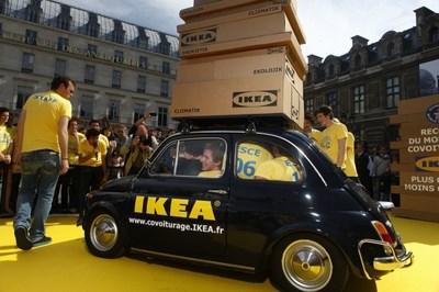 Ikea promeut le covoiturage