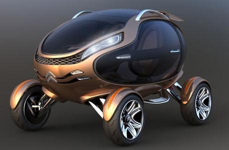 La Citroën EGGO : entre l'oeuf et l'alien